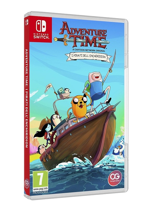 ADVENTURE TIME I PIRATI DELL'ENCHIRIDION  NINTENDO SWITCH