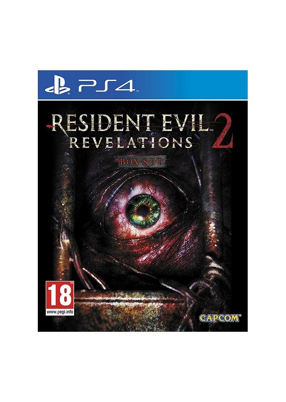 RESIDENT EVIL REVELATIONS 2  PS4  usato