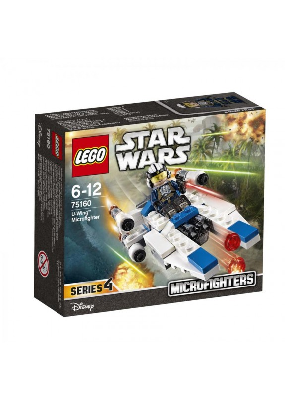 LEGO STAR WARS MICROFIGHTERS SERIE 4 - MICROFIGHTER U-WING  75160