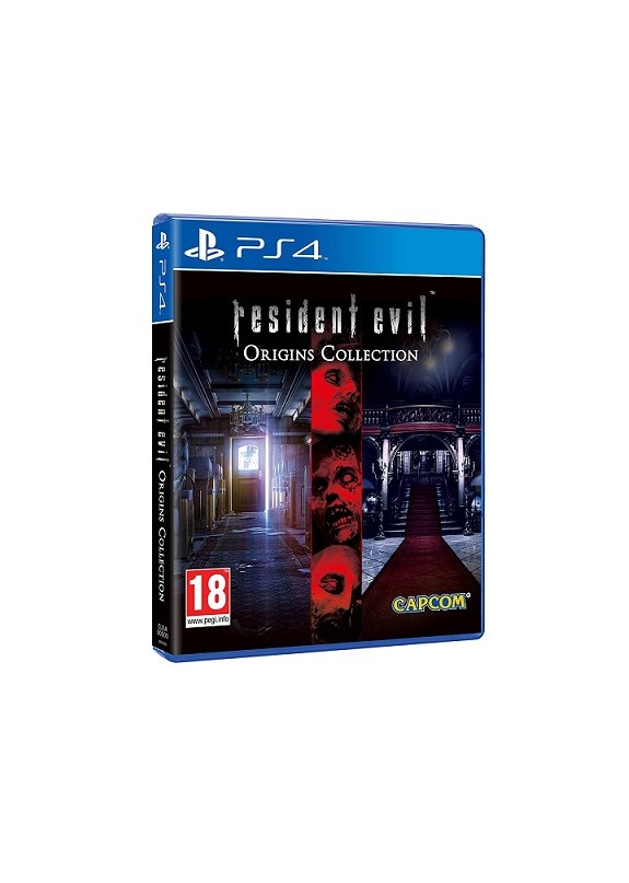 RESIDENT EVIL ORIGINS COLLECTION  PS4  usato