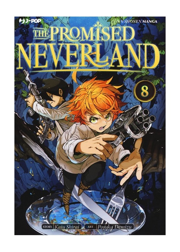 THE PROMISED NEVERLAND N.8