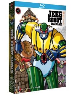 Jeeg Robot D'Acciaio 01 (di 2) (3 Blu-Ray)