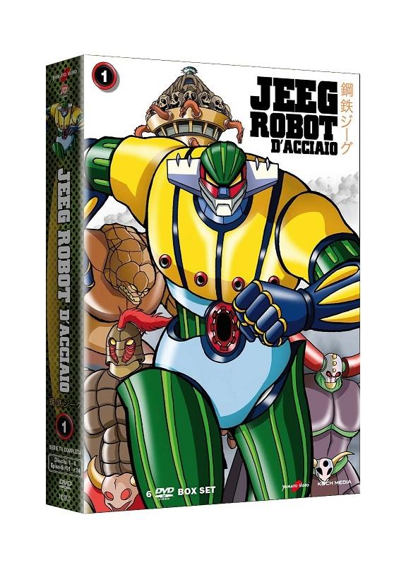 Jeeg Robot D\'Acciaio 01 (di 2) (6 Dvd)