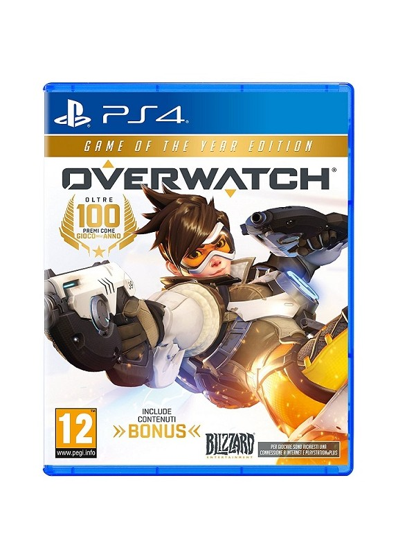 OVERWATCH GAME OF THE YEAR EDITION  PS4  usato