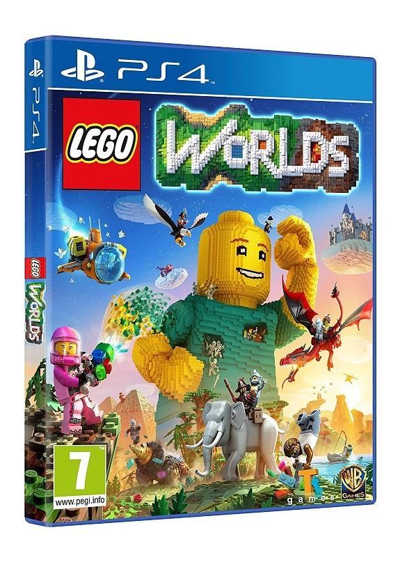 LEGO WORLDS  PS4  usato