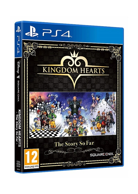 KINGDOM HEARTS THE STORY SO FAR  PS4
