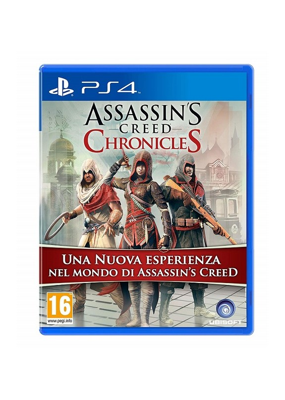 ASSASSIN'S CREED CHRONICLES PS4  usato