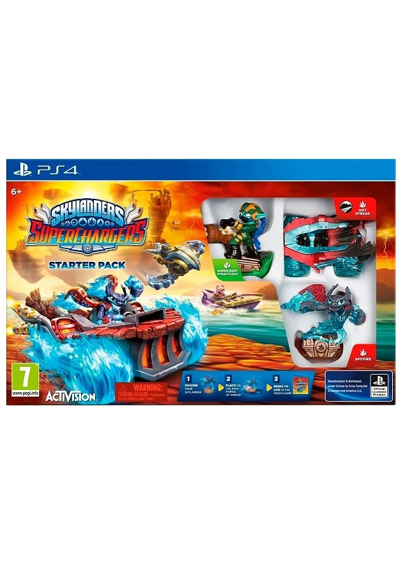 SKYLANDERS SUPERCHARGERS STARTER SET  PS4