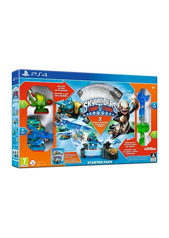 SKYLANDERS TRAP TEAM STARTER SET  PS4
