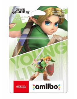 AMIIBO SUPER SMASH BROS COLLECTION YOUNG LINK N.70