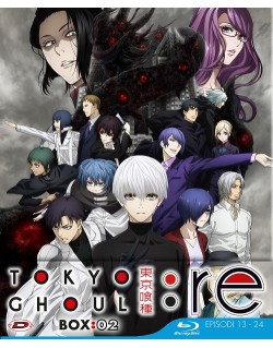 Tokyo Ghoul: Re - Stagione 03 Box 02 (Eps 13-24) (3 Blu-Ray) (Ed. Limitata)