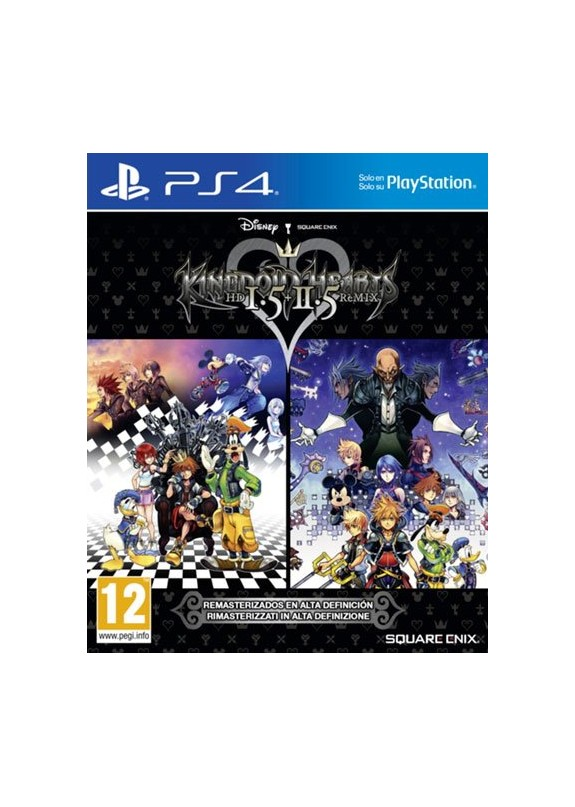 KINGDOM HEARTS 1.5 + 2.5 REMIX  PS4  usato