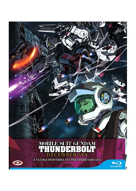MOBILE SUIT GUNDAM THUNDERBOLT DECEMBER SKY (first press)  BLU-RAY