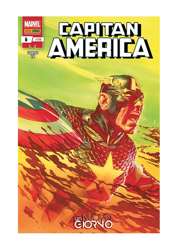 CAPITAN AMERICA N.110 - CAPITAN AMERICA 6