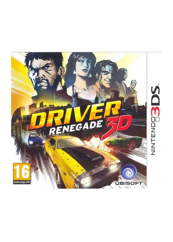 DRIVER RENEGADE 3D  3DS  usato