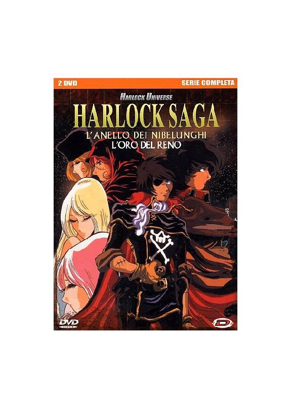 HARLOCK SAGA SERIE COMPLETA DVD