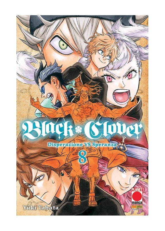 BLACK CLOVER N.8 (RIST)