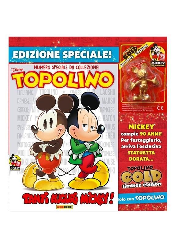 TOPOLINO N.3286 + TOPOLINO GOLD LIMITED EDITION