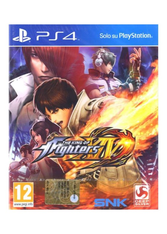 THE KING OF FIGHTERS XIV  PS4  usato