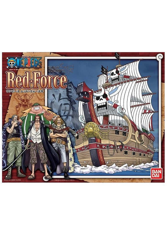 ONE PIECE RED FORCE  PLASTIC  KIT