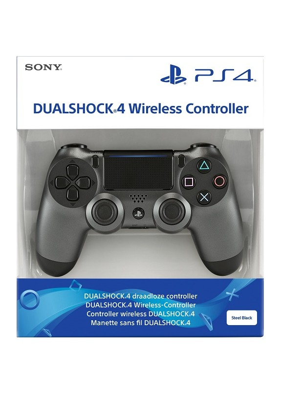 CONTROLLER DUALSHOCK 4 STEEL BLACK V2  PS4