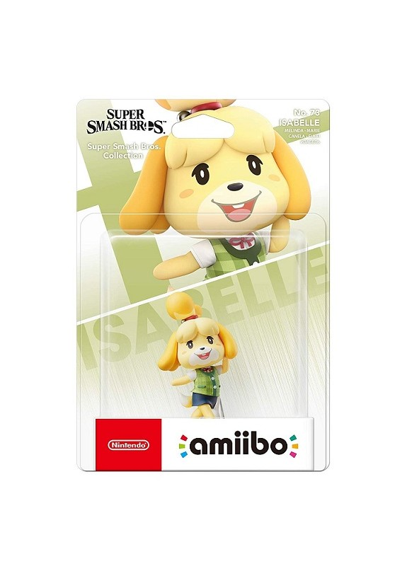 AMIIBO SUPER SMASH BROS  ISABELLE N.73