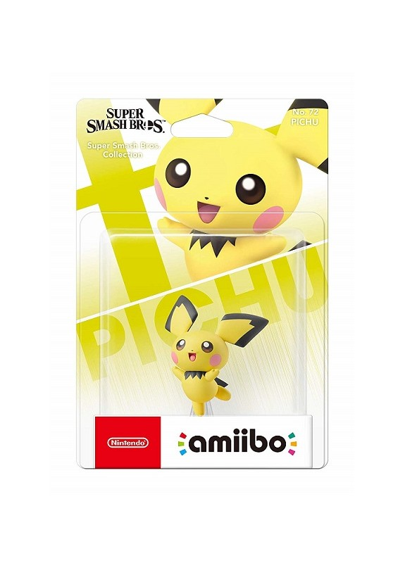 AMIIBO SUPER SMASH BROS  PICHU N.72