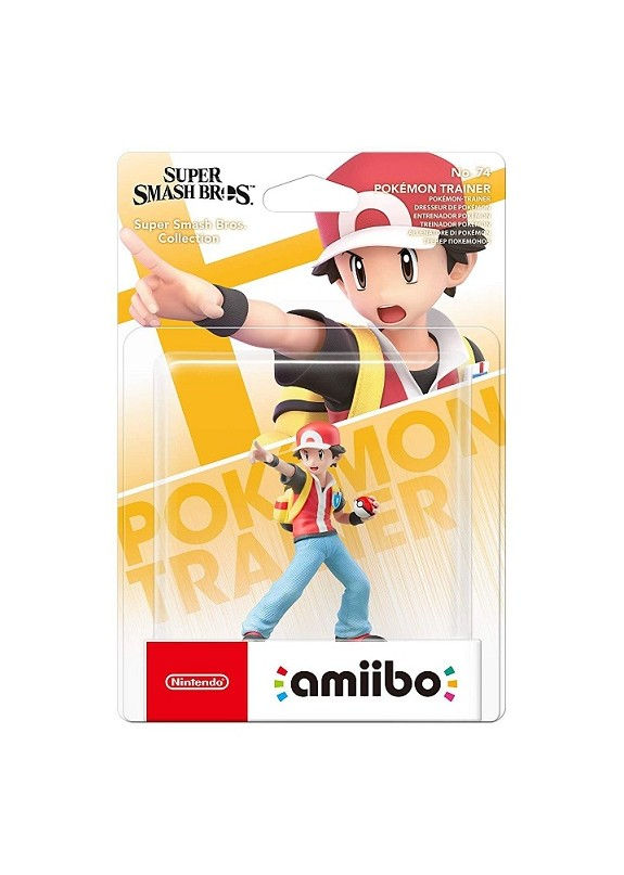 AMIIBO SUPER SMASH BROS  POKEMON TRAINER N.74