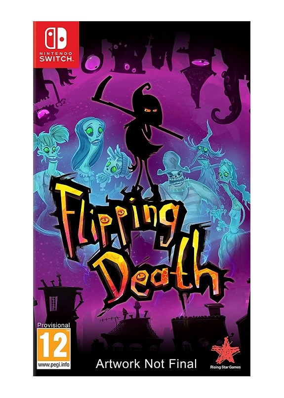 FLIPPING DEATH  NINTENDO SWITCH  usato