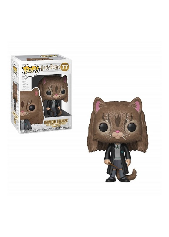 HARRY POTTER HERMIONE GRANGER CAT FUNKO POP #77