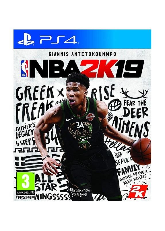 NBA 2K19  PS4  usato