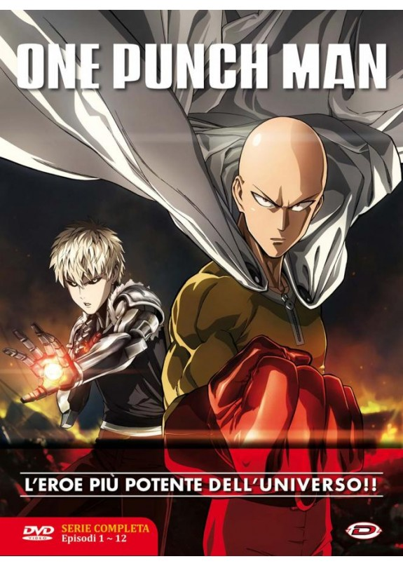 ONE PUNCH MAN SERIE COMPLETA EP. 1-12  DVD