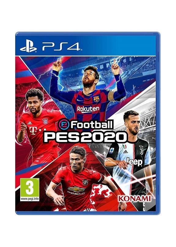 E FOOTBALL PES 2020  PS4