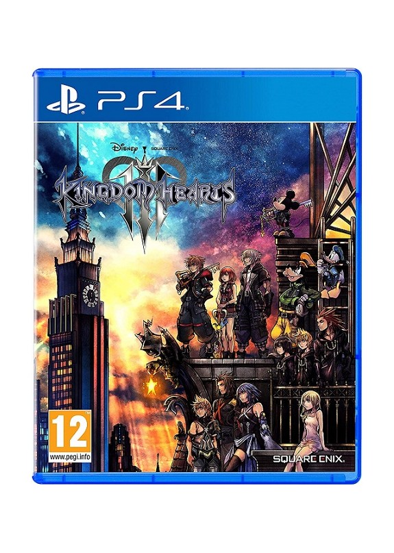 KINGDOM HEARTS 3  PS4  usato