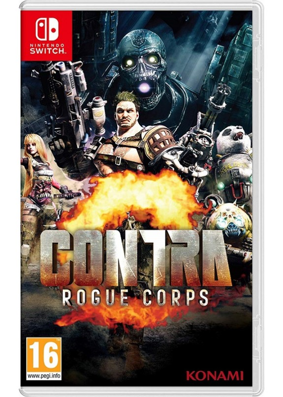 CONTRA ROGUE CORPS  NINTENDO SWITCH