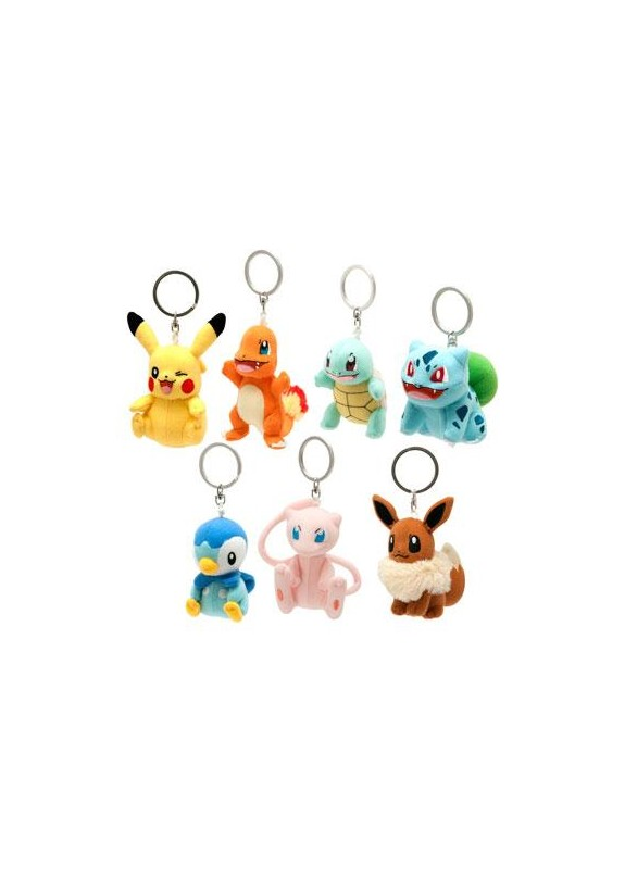 POKEMON PLUS KEYCHAIN SET
