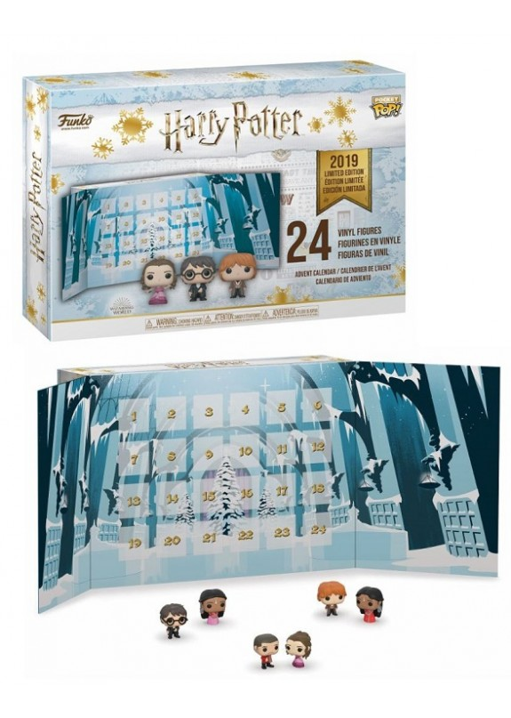 FUNKO CALENDARIO AVVENTO HARRY POTTER  POCKET POP!