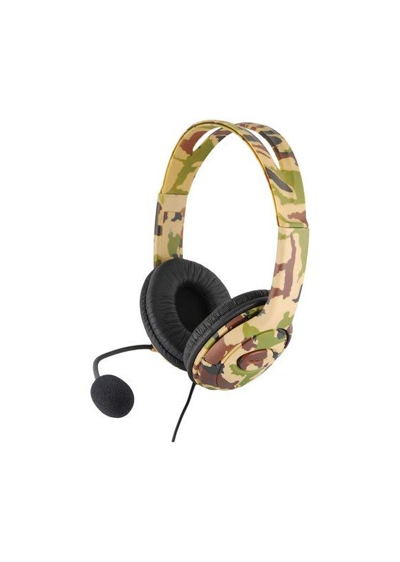 CUFFIE XC16PRO STEREO HEADSET CAMO EDITION  PS4 / XBOX ONE / PC