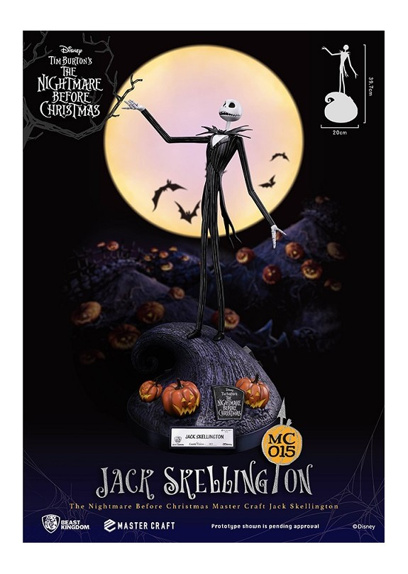 NBX JACK SKELLINGTON MASTER CRAFT STATUE