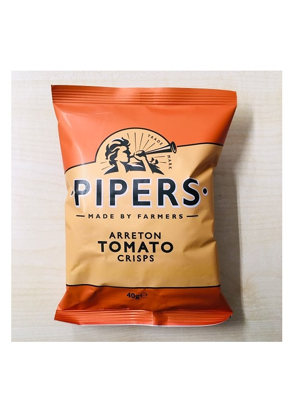 PIPERS CRISPS TOMATO 40g