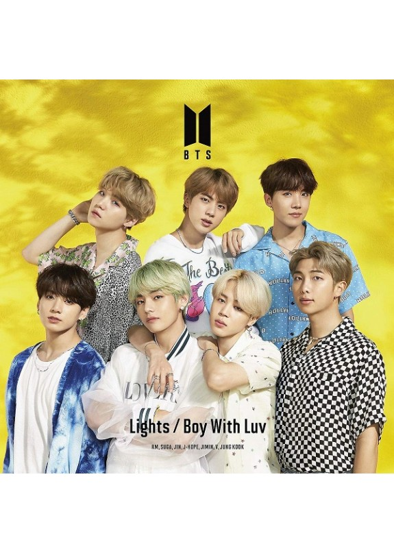 Bts - Lights / Boy With Luv (Ltd Ed C) (Cd+Photo Booklet)