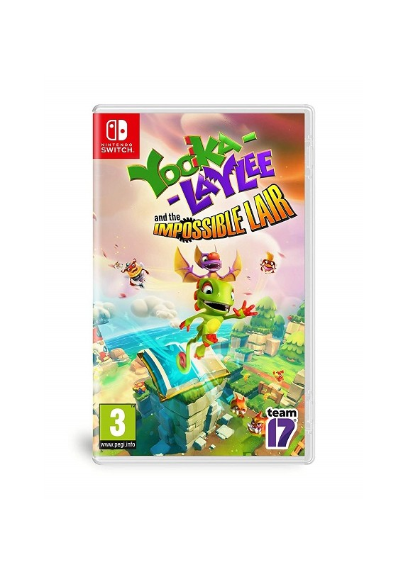 YOOKA-LAYLEE AND THE IMPOSSIBLE LAIR NINTENDO SWITCH
