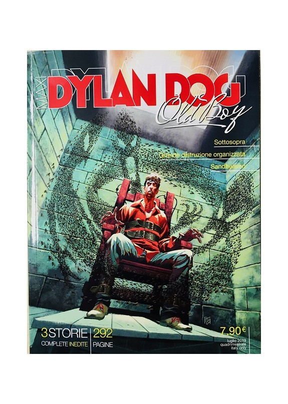 DYLAN DOG MAXI N.36 OLD BOY
