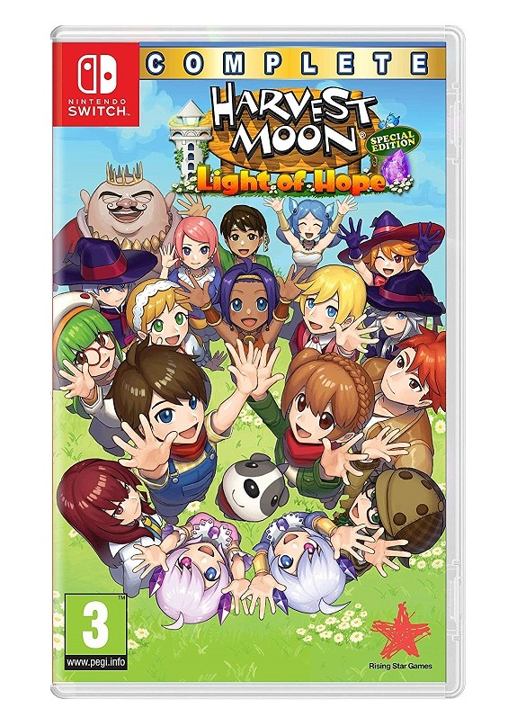 HARVEST MOON LIGHT OF HOPE COMPLETE SPECIAL EDITION  NINTENDO SWITCH