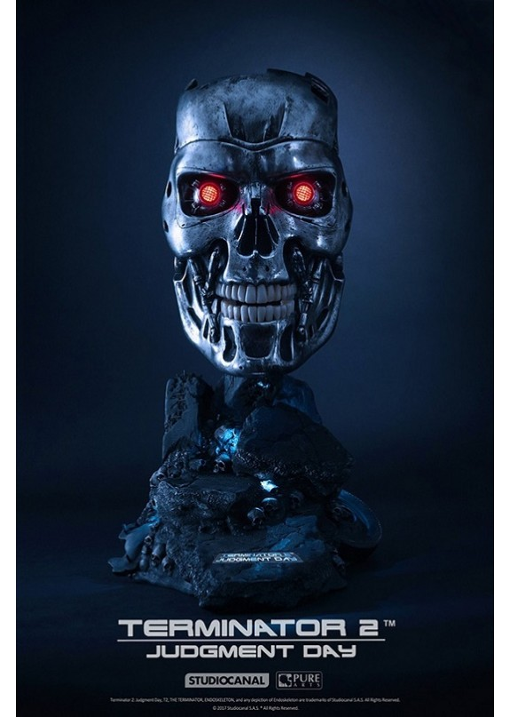 TERMINATOR 2 - T800 ART MASK LIMITED EDITION