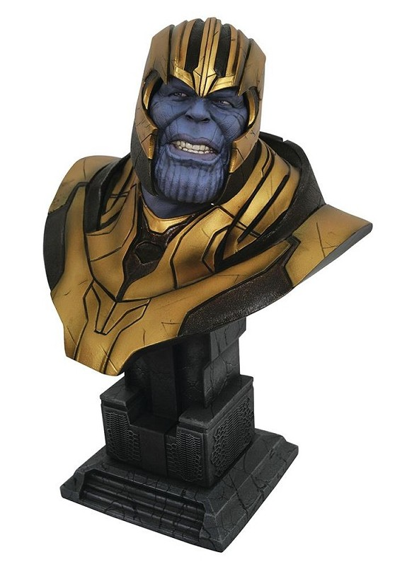 AVENGERS 4 THANOS 1/2 BUST