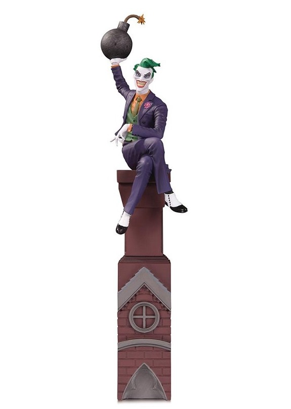 BATMAN ROGUES GALL THE JOKER STATUE
