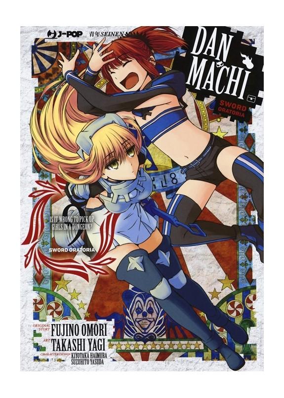 DANMACHI SWORD ORATORIA (manga)  N.9