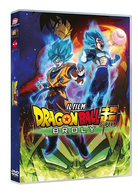 Dragon Ball Super - Broly  Dvd