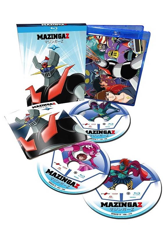 Mazinga Z 03 (3 Blu-Ray)